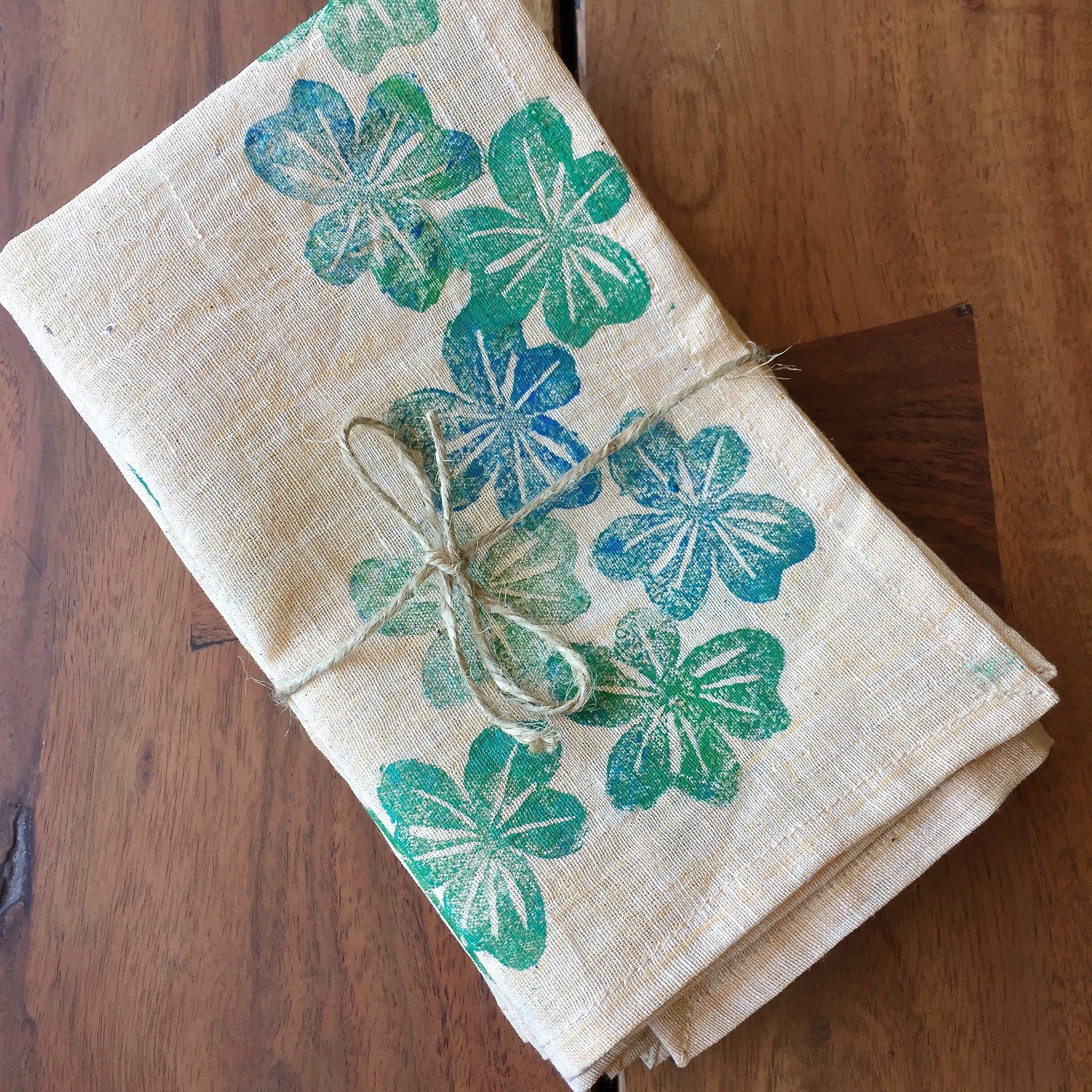 Spring Flowers Table Linens by Shivam Creations
