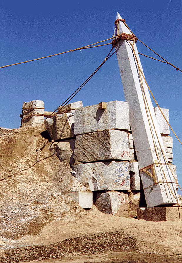 The Chelmsford Obelisk for PBS/NOVA Secrets of Lost Empires - Pharoah's Obelisk