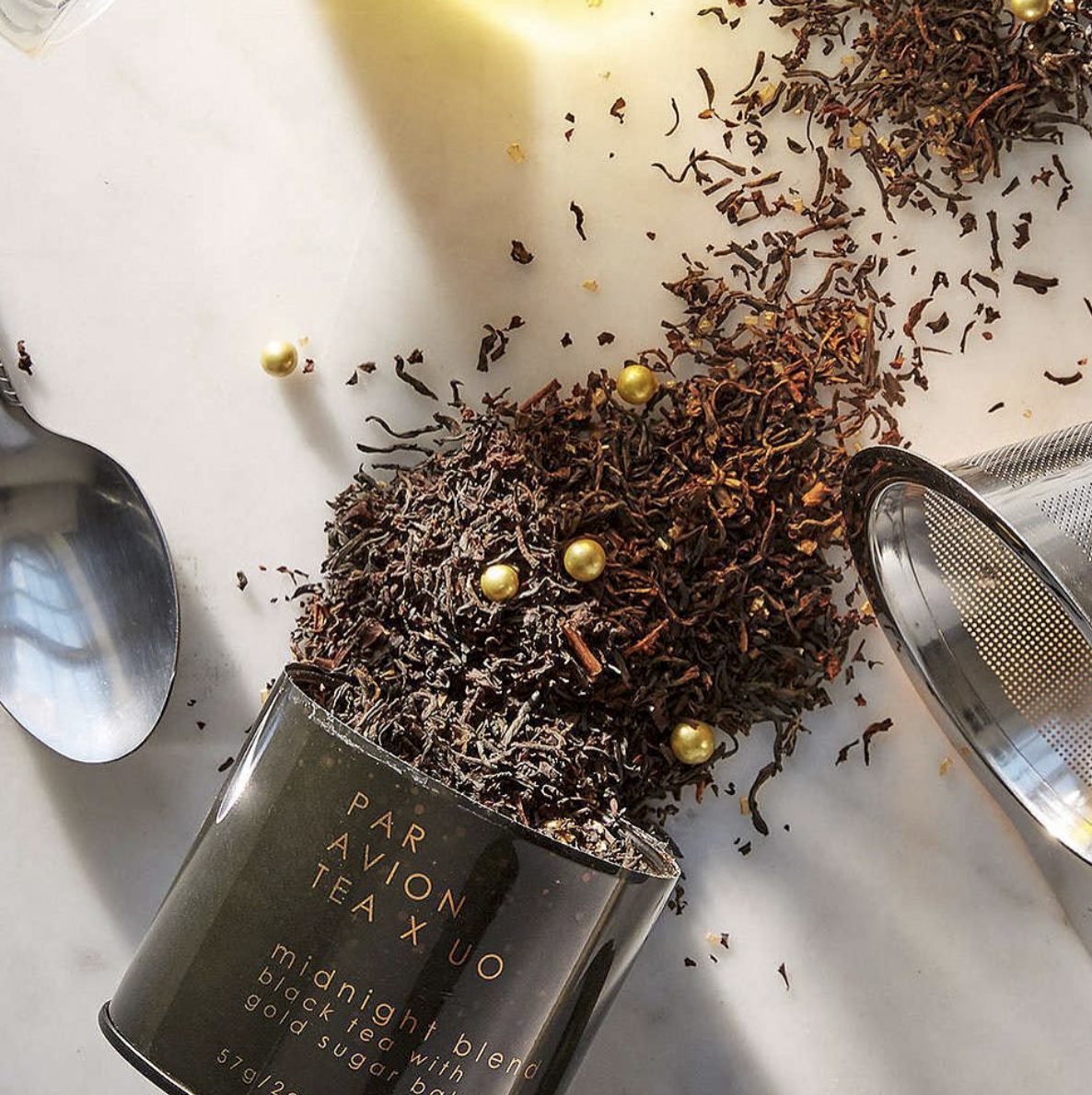 PAR AVION TEA X UO - FROM A COLLAB BETWEEN PAR AVION TEA & URBAN OUTFITTERS TEA THAT SPARKLES IN YOUR MUG