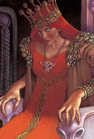 Jadis, half-Jinn, half-giantish, a hybrid unfit for the throne of Narnia