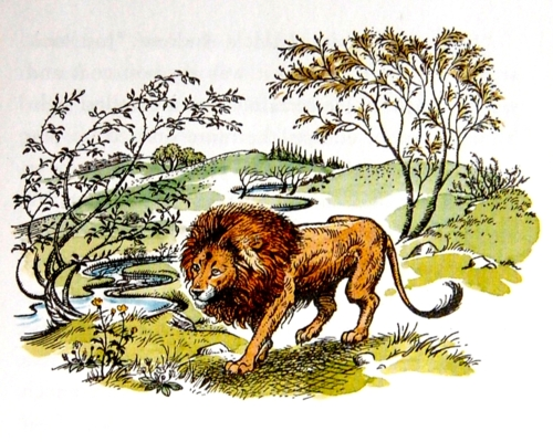 The Great Lion Himself, Aslan