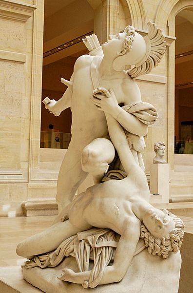 Nisos and Euryalos, The Louvre