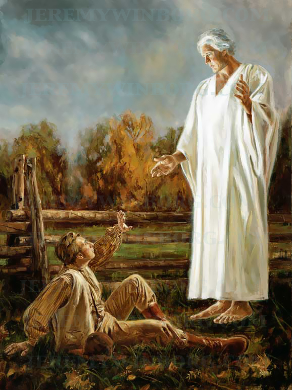 Joseph Smith's so-called encounter with the Angel Moroni.
