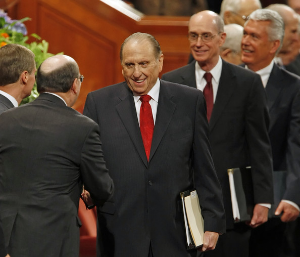 Thomas Monson , current President of The Church of Jesus Christ of Latter-day Saints.