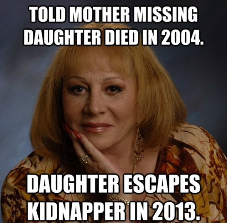 "[In]famous psychic, Sylvia Browne, as seen countless times on the Montel Williams show over the years. I think it no coincidence that  she died the same year  her most famous ""prophecy"" was disproven. She was nationally discredited, thus, Satan no longer needed her."