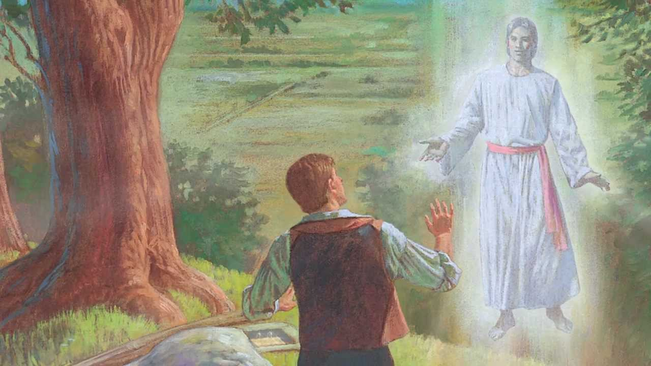 """Jesus"" appearing to Mormonism founder, Joseph Smith."