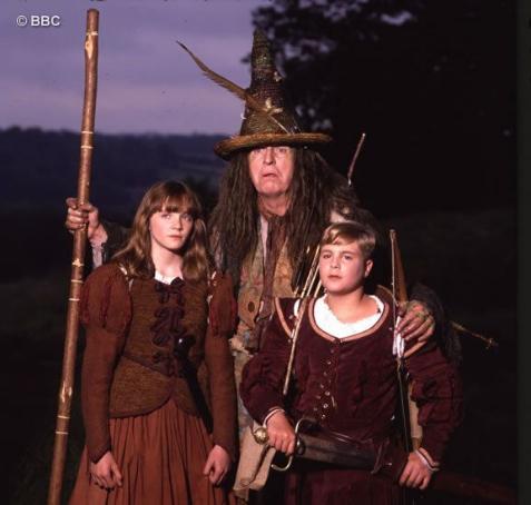 Jill Pole, Puddleglum, and Eustace Scrubb