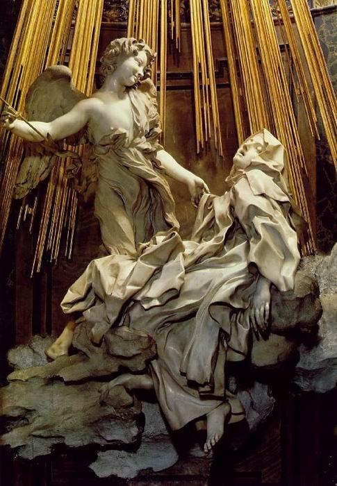 "The ""Ecstasy of St. Teresa"" by Gian Lorenzo Bernini."