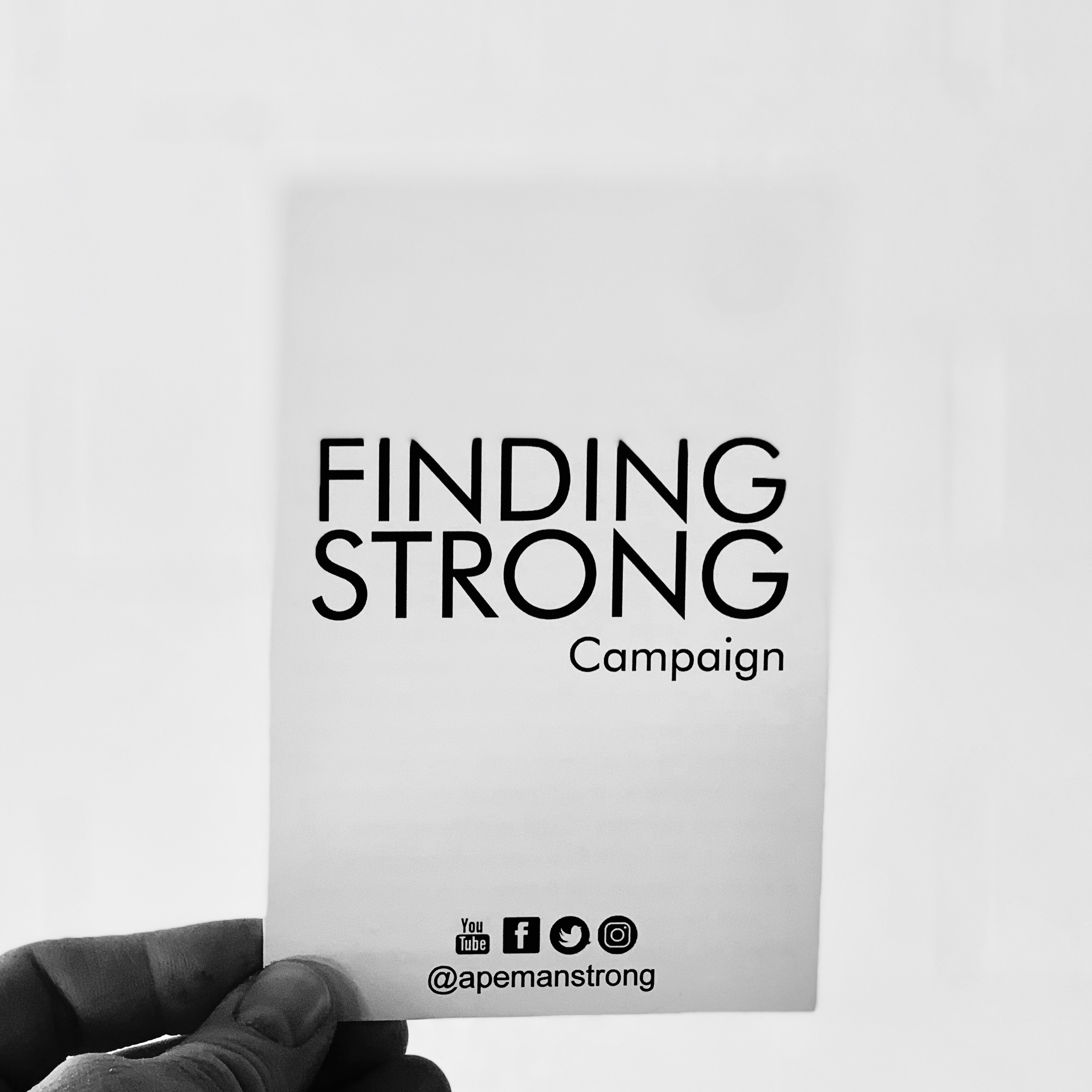 The Finding Strong Campaign -