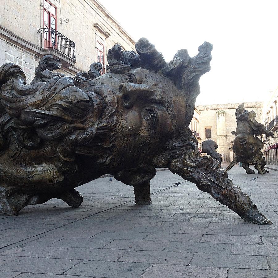 Sculpture by Javier Marin
