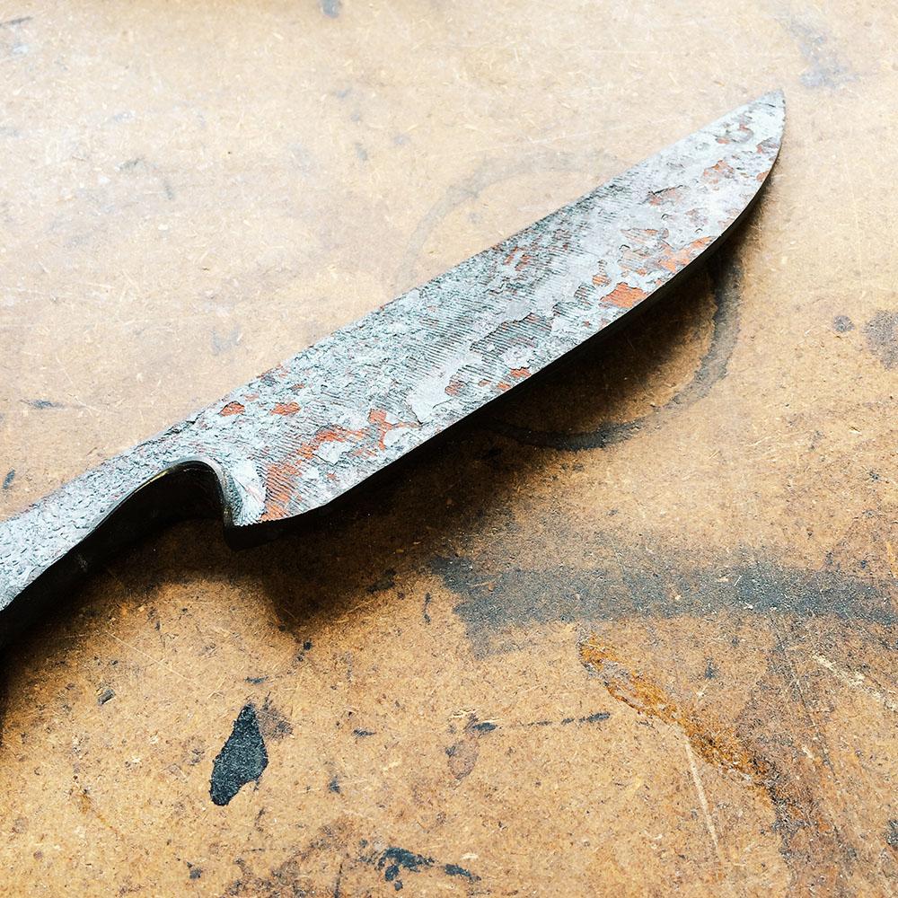 Knife in progress