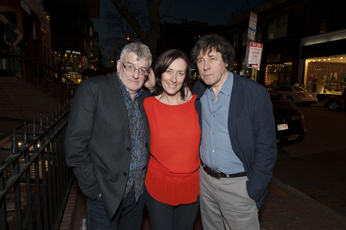 Thaddeus O'Sullivan, Dawn Morrissey and Stephen Rea
