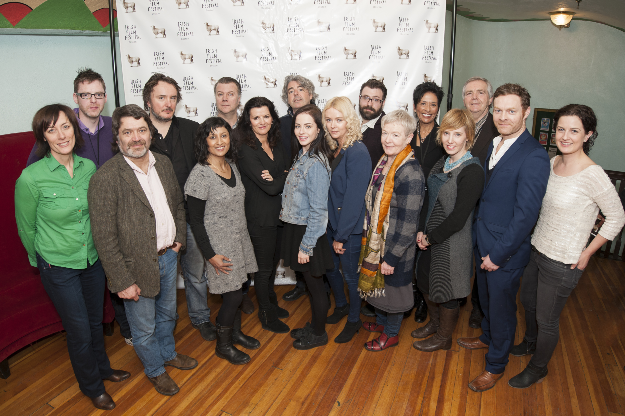 Thanks to all of the film makers, directors, producers and actors who made the 2014 film festival a huge success!