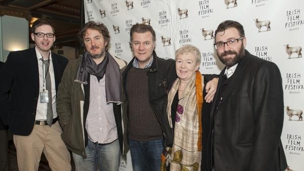 Film makers, actors and directors arrive at the festival.