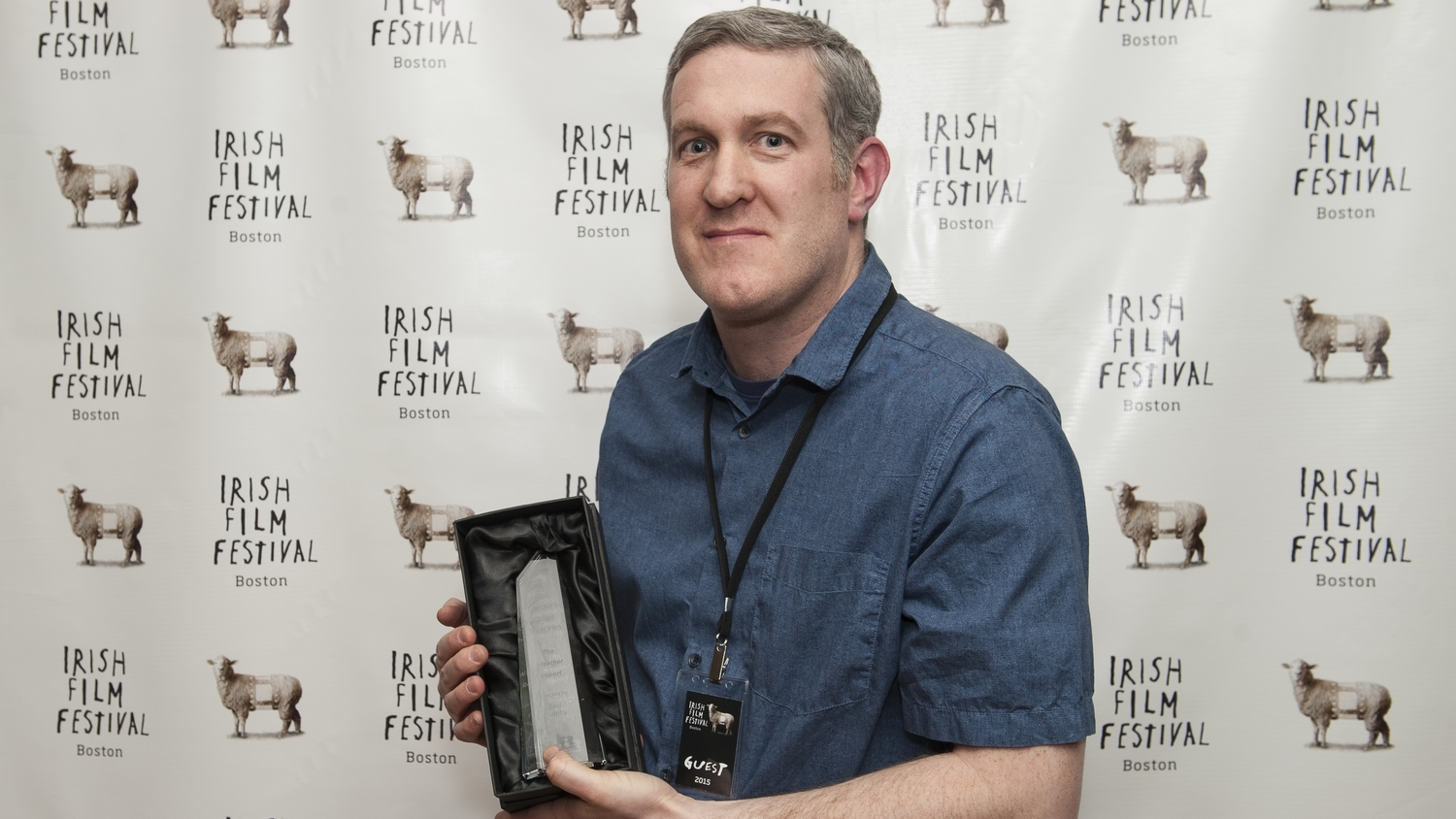 Director Paul Murphy, winner of the 2015 Director's Choice Short Award for THE WEATHER REPORT.