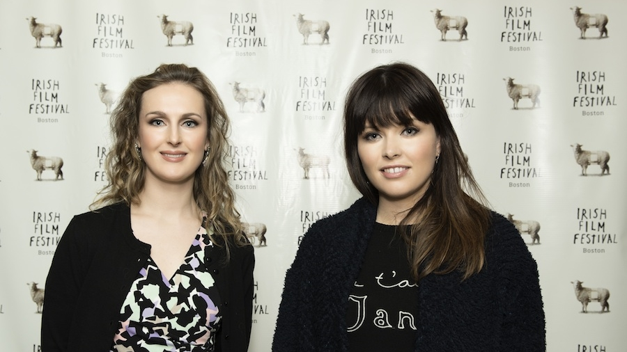 Producer Rachel Lysaght and Director Aoife Kelleher, ONE MILLION DUBLINERS