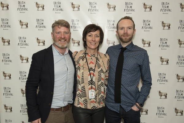 Kev Cahill (More Than God), Dawn Morrissey (Irish Film Festival, Boston), Mark Noonan (You're Ugly Too)