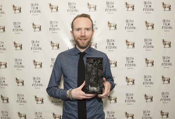 Mark Noonan winner of our 2016 Best Breakthrough Feature Award for You're Ugly Too