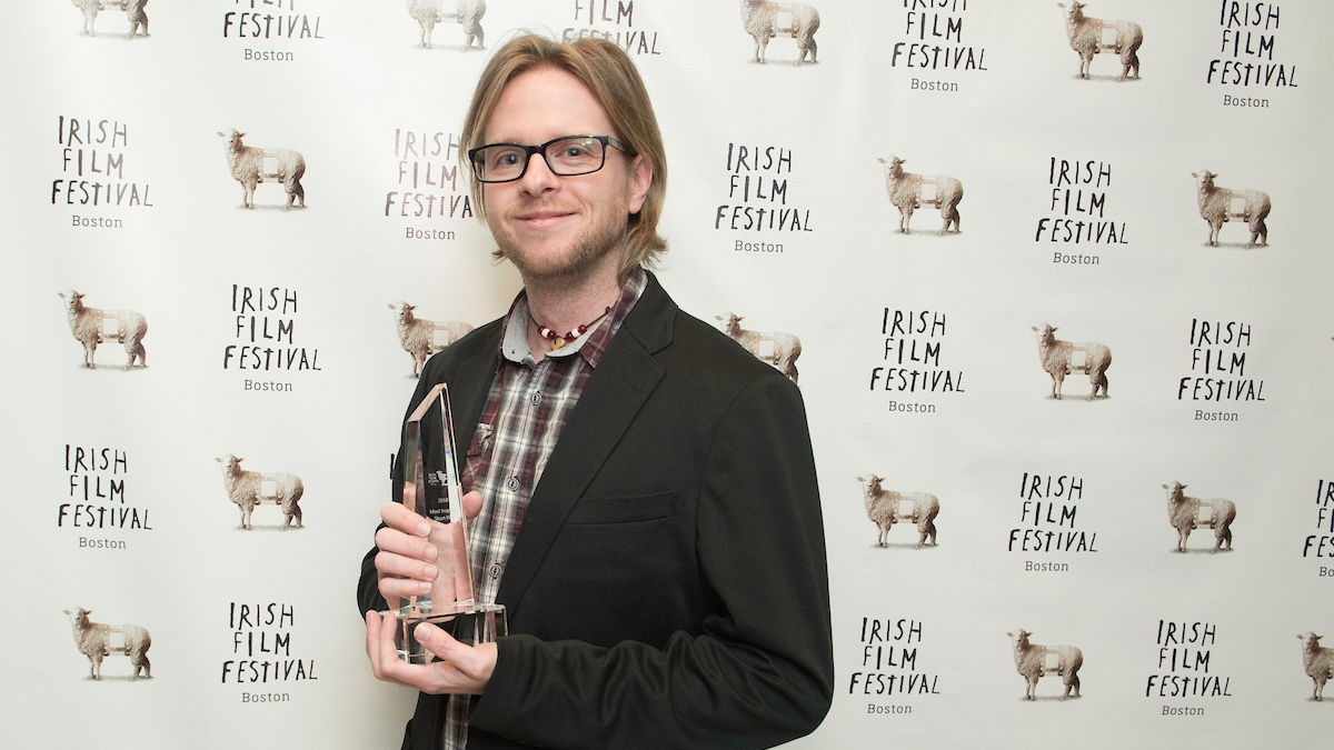 Paul Horan, Director and Writer,  Bless Me Father,  2018   Most Inspiring Short Award