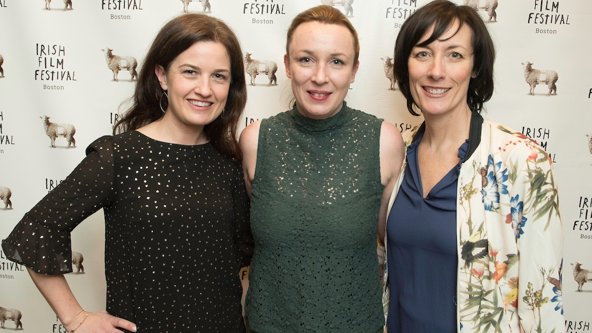 Siobhan Fanning, Roisin Kearney (Producer and Writer,  The Family Way ), Dawn Morrissey