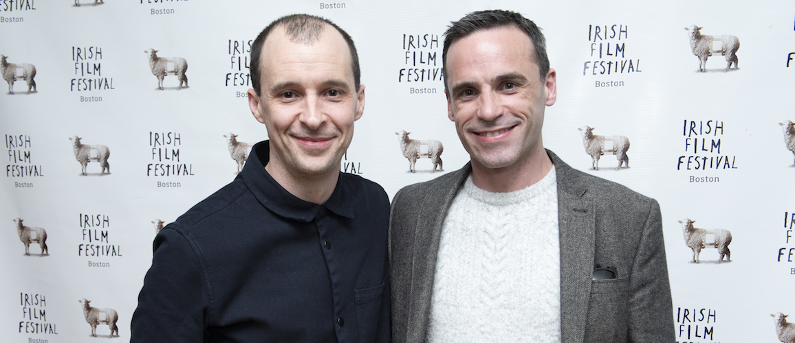 Actors Tom Vaughan Lawlor (MAZE) and Dara Devaney (FLOAT LIKE A BUTTERFLY)