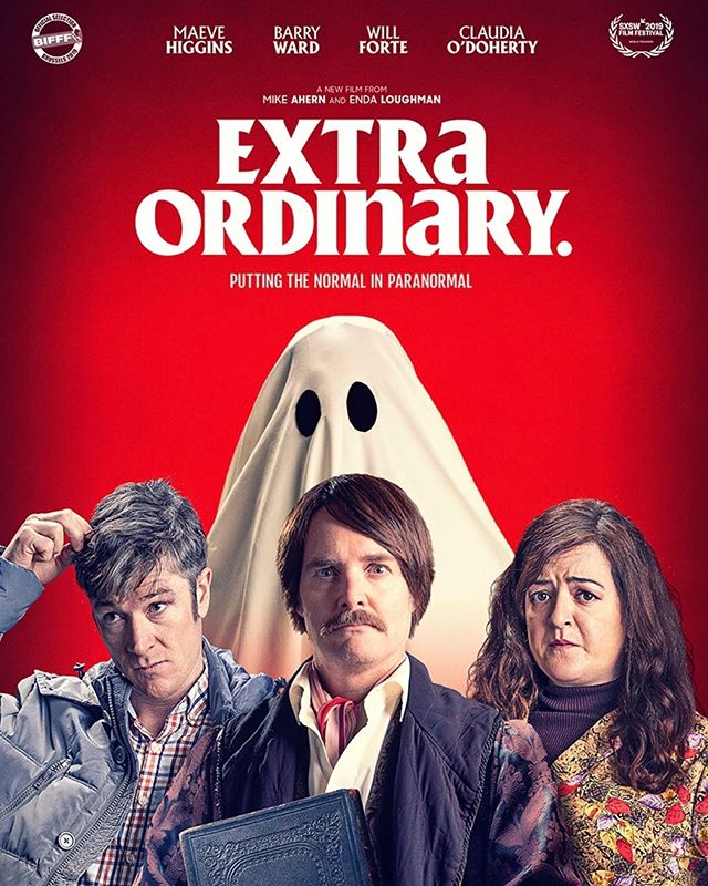 We're pleased to co-present Irish Supernatural comedy, Extra Ordinary at Boston Underground Film Festival at Somerville Theatre, on Thursday, October 17th. Starring Will Forte and Maeve Higgins, this film is screening during Buff-O-Ween and you'll receive a $2 discount by following the link in the bio.