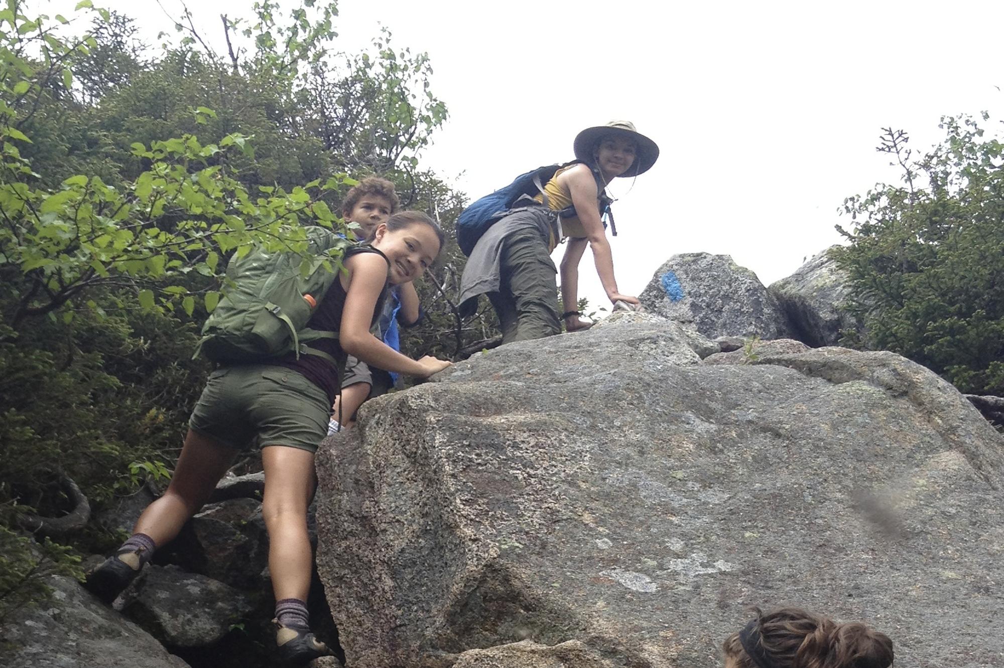 Climbing Up (Siena at top center)