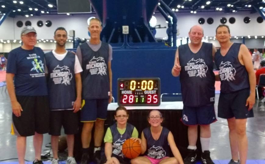 Team Michigan 2014 Basketball Team