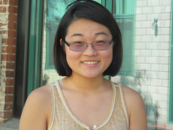 Victoria Tsou, 18, Sophomore.  San Gabriel Valley, CA.  College: Grinnell College in  Grinnell, IA.  Major: Undecided.