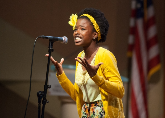 WriteGirl Teen LA's First Youth Poet Laureate
