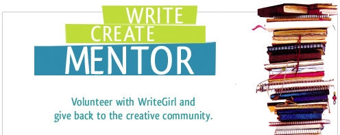 Write. Create. Mentor. Volunteer with WriteGirl.