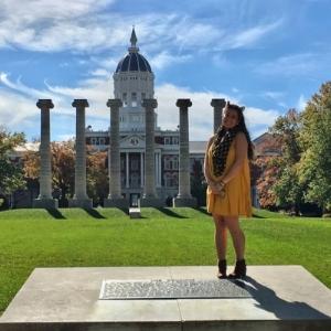 Sierra Soto at the university of Missouri.