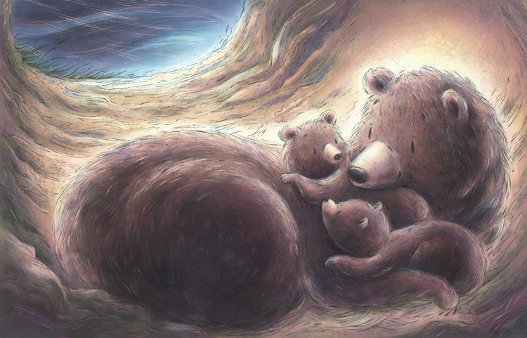 From Safe In A Storm. Written by Stephen Swinburne illustrated by Jennifer A. Bell