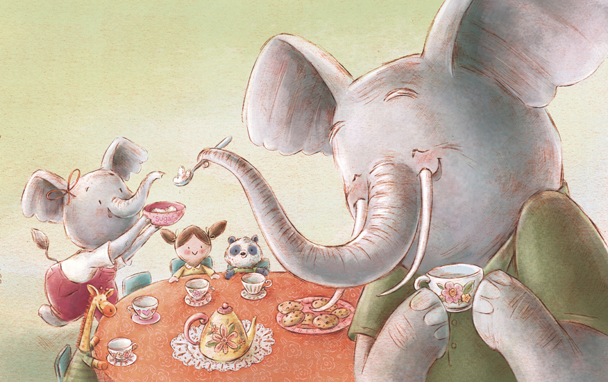 """From When A Grandpa Says """"I Love You"""". Written by Douglas Wood illustrated by Jennifer A. Bell"""