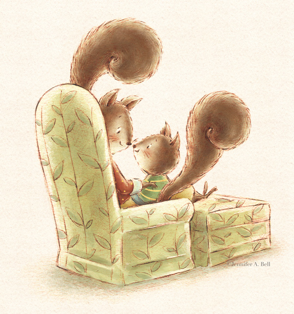 From Miss You Like Crazy. Written by Pamela Hall. Illustrated by Jennifer A. Bell