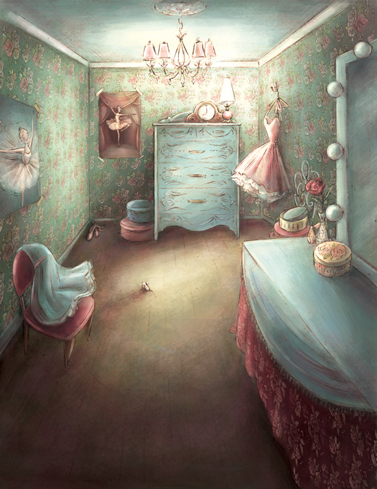 From Toe Shoe Mouse. Written by Jan Carr illustrated by Jennifer A. Bell
