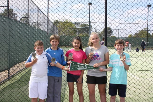 Runners up are still grinners?!… Congratulations to Oscar, Aiden, Brooke, Grace and Mitchell. Runners up in Section 14.