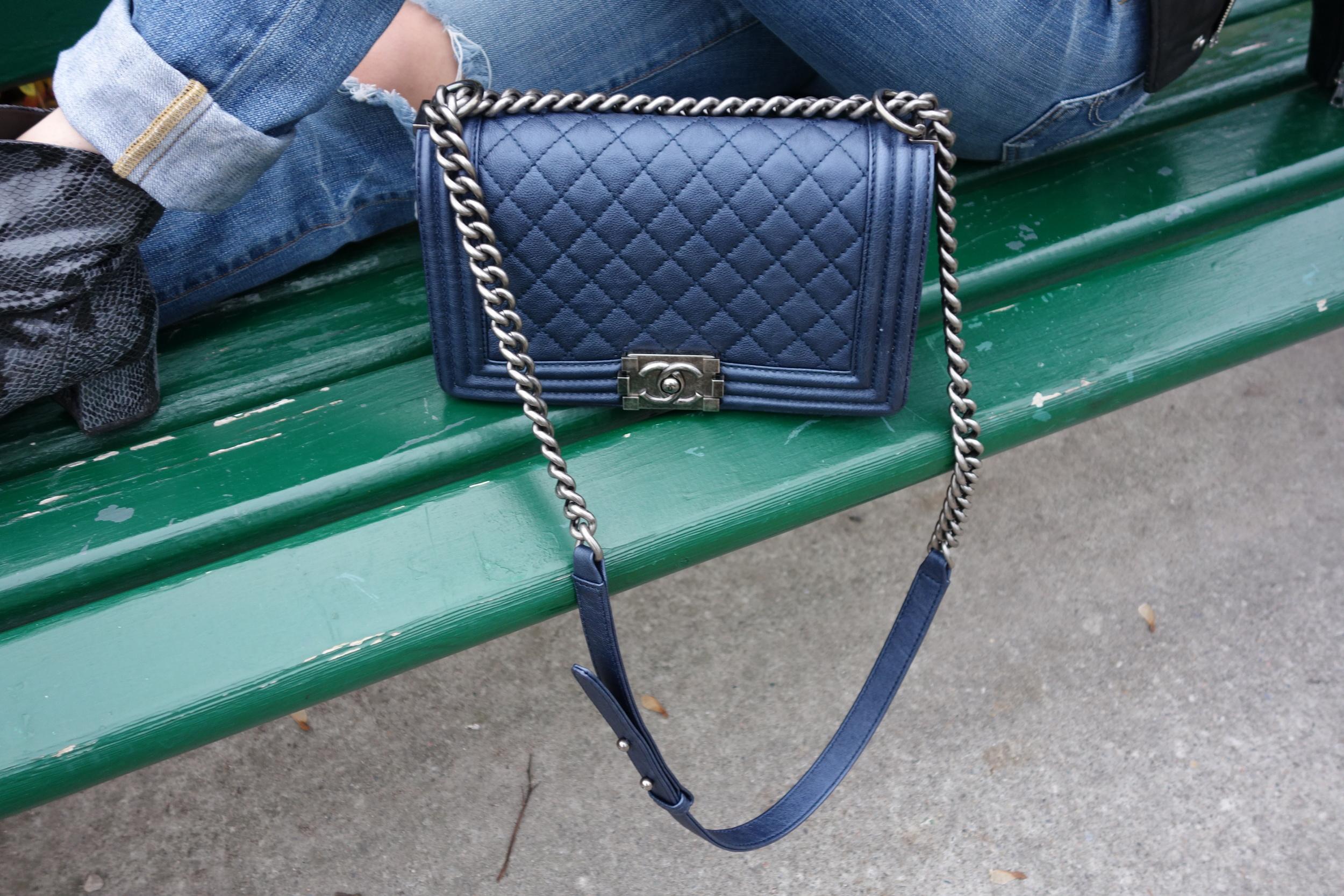 Bag: Chanel Boybag