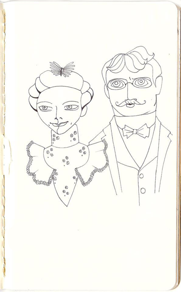 Victorian Couple • 2011