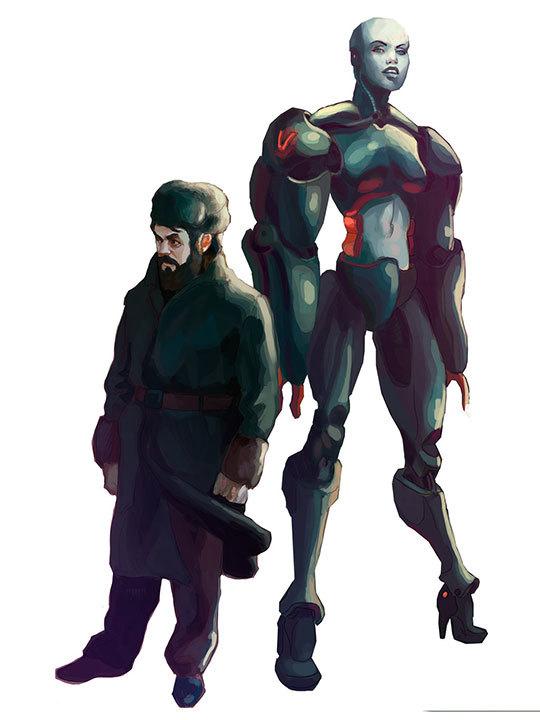 Sergei and Vee