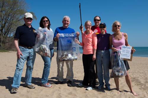 Spring 2015 South Boulevard Beach Cleanup Team