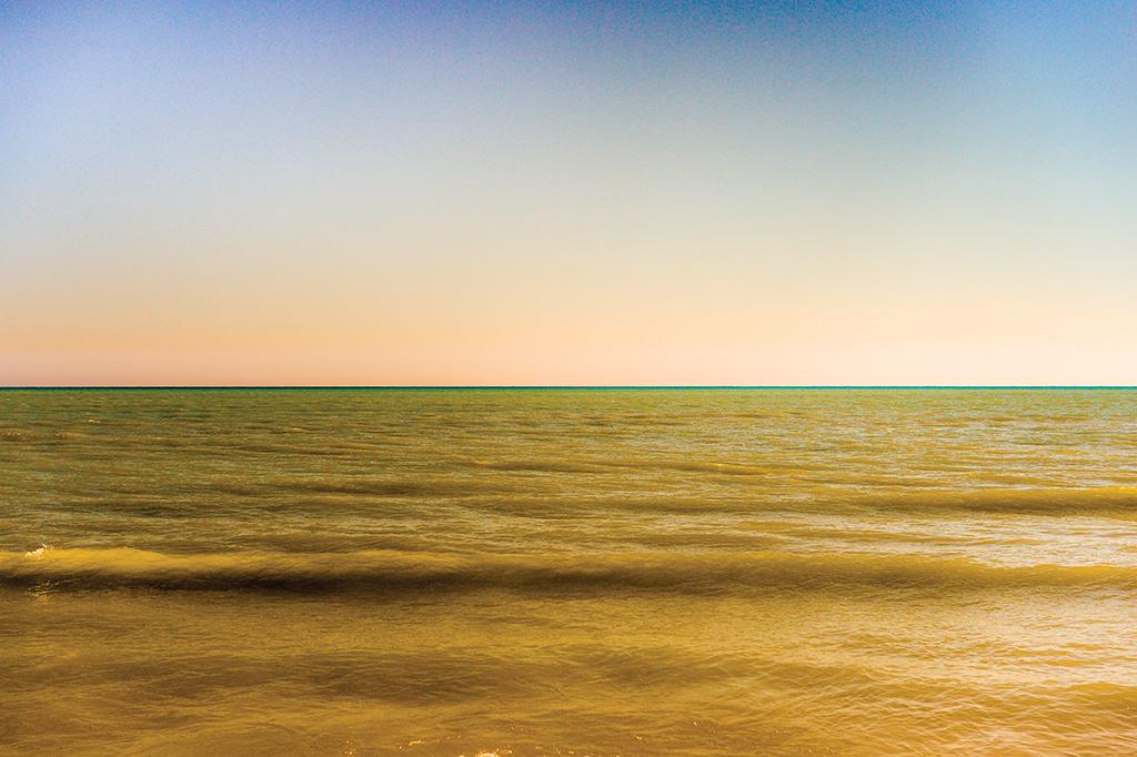 Yellow-Green Lake, ©2015 Ted Glasoe
