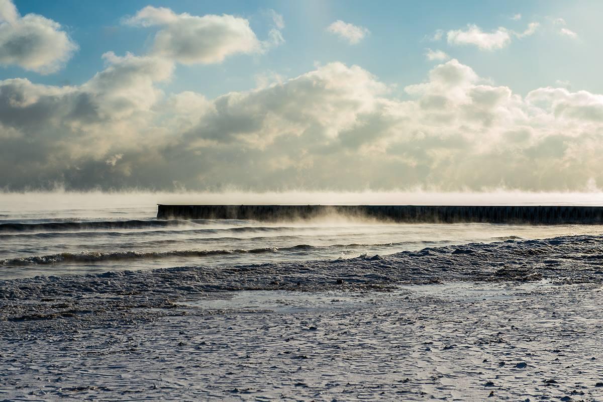 """""""Steaming Lake,"""" December 2018"""
