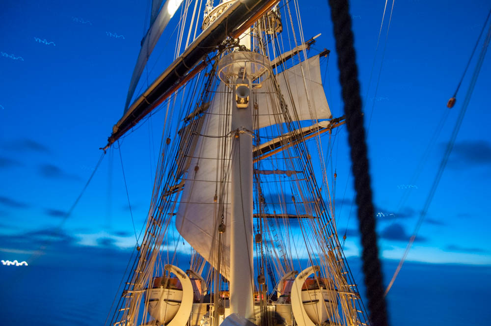 Under Sail at NIght