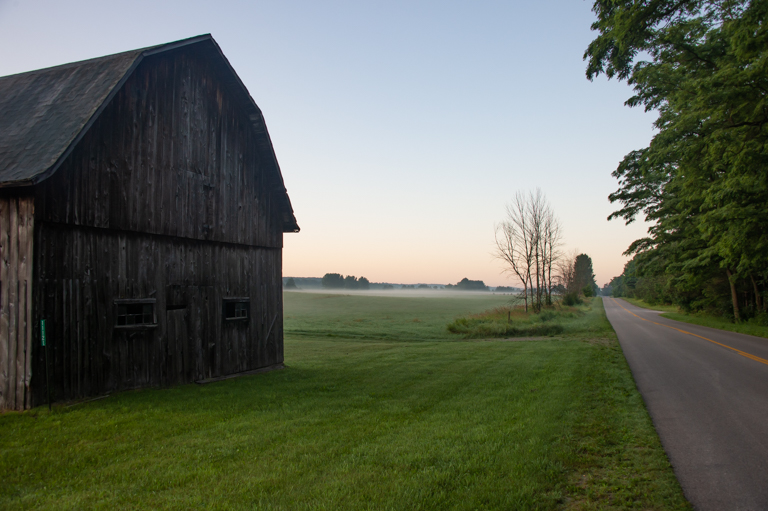 Morning near M-22
