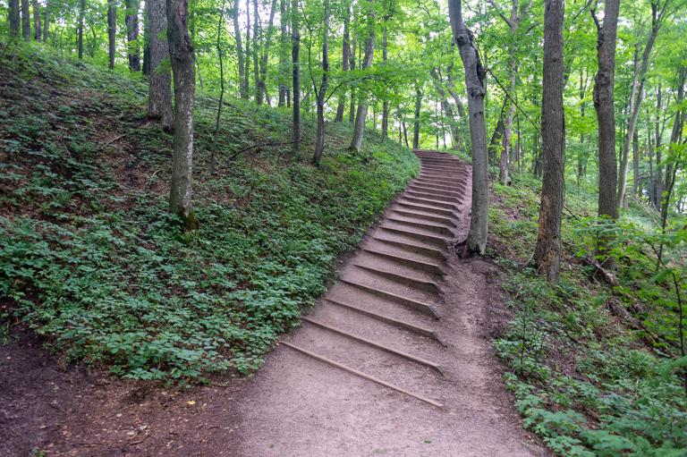 Bluff Stairs