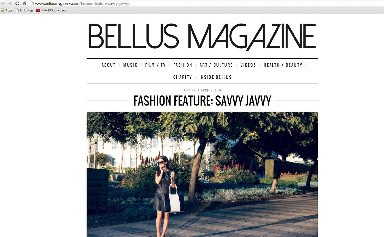 Bellus Magazine Fashion Feature