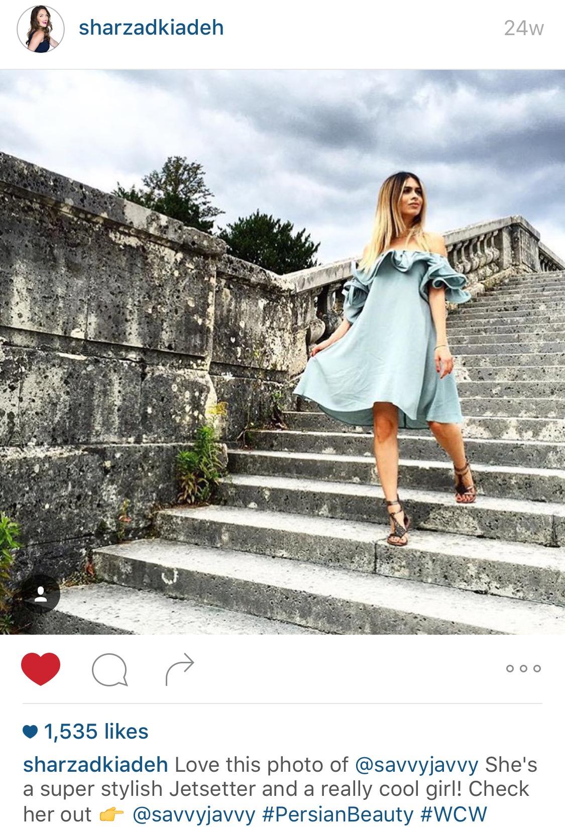 Sharzad Kiadeh Instagram