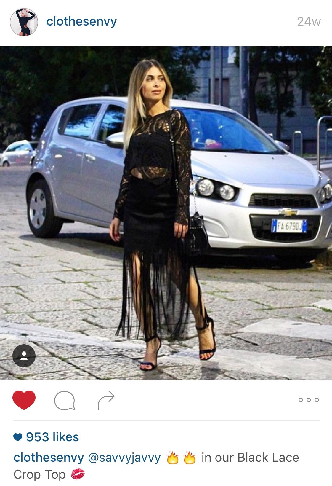 Clothes Envy Instagram