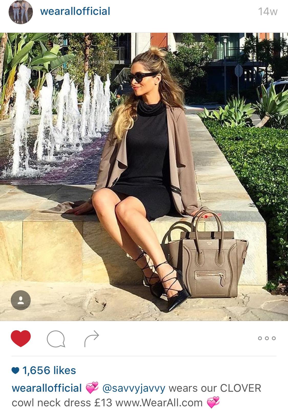 Wear All Official Instagram